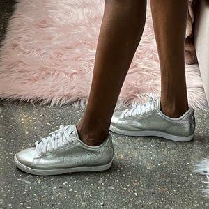 Nike Silver Sneakers